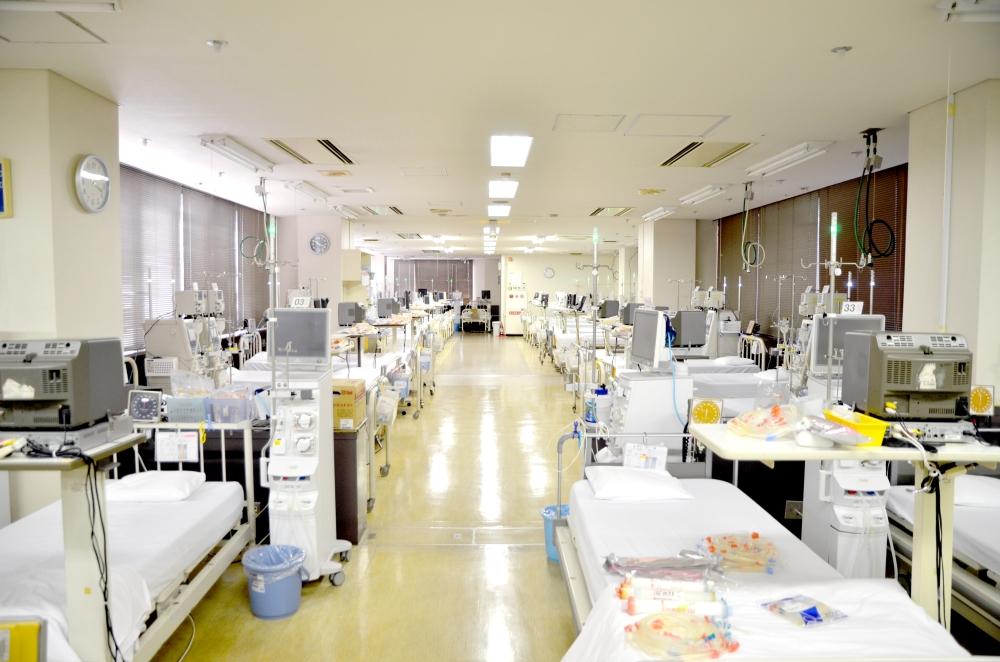 博腎会病院 透析室