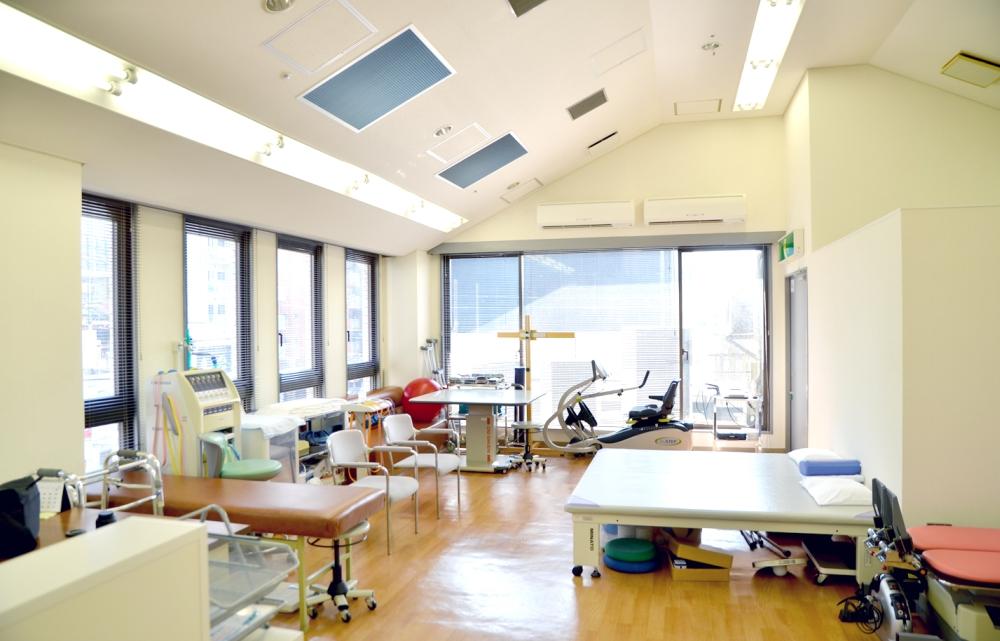 博腎会病院 リハビリ室